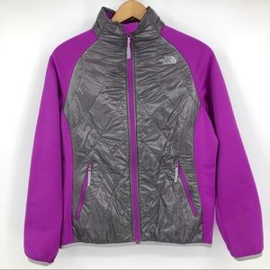 North Face Puffer Jacket Pertex Quantum Purple XL